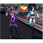 Two Chicks in Champions Online