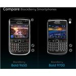 Blackberry Bold 2 -9700- VS Blackberry Bold 3 -9650
