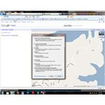 Clearing your browser cache removes older copies of Google Maps from your browser history.