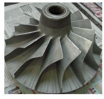 compressor wheel after overhaul