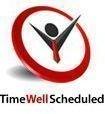 TIMEwellSCHEDULED Logo