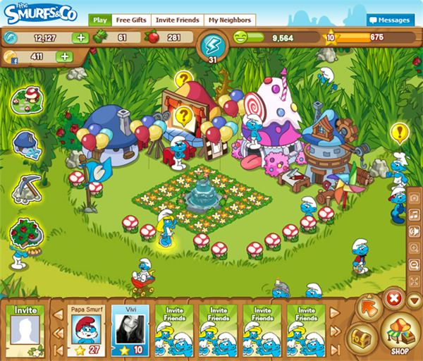 The Smurfs and Co.