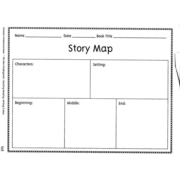 Teaching reading with picture books pat hutchins changes for Story outline template for kids