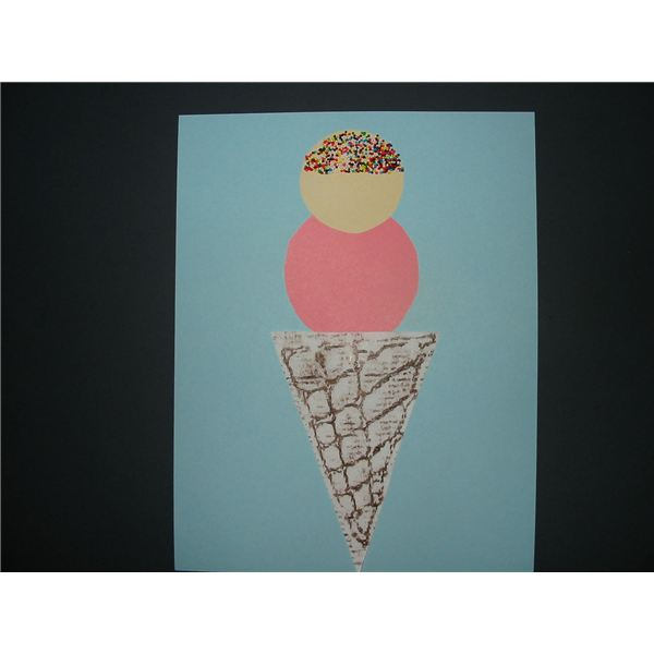 Ice Cream Cone Art