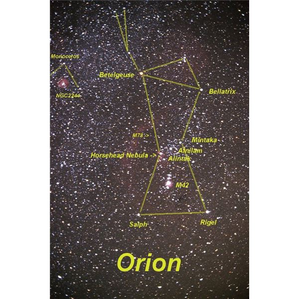 Betelgeuse is Orion's brighter shoulder