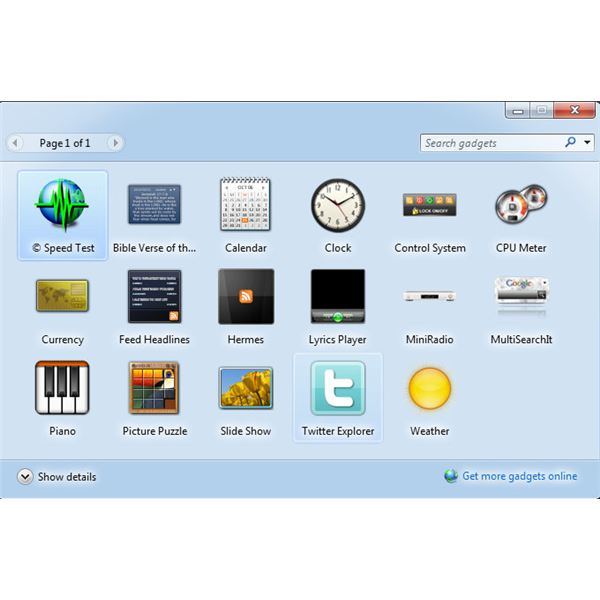 The Best Win 7 Gadget for Your Windows 7 Sidebar