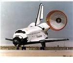 Endeavour landing