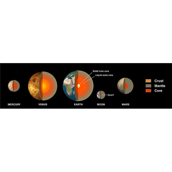 The Internal Structure of the Terrestrial Planets