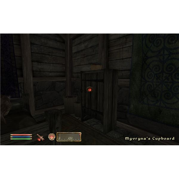 The Elven Maiden - Oblivion Thieves Guild - Planting the Bust in Myvryna's Cupboard