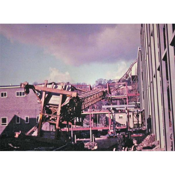 Crane Accident - Univ. of Bangor, 1965