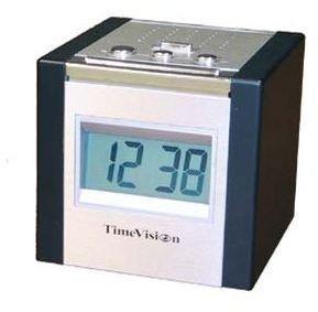 talking cube alarm clock