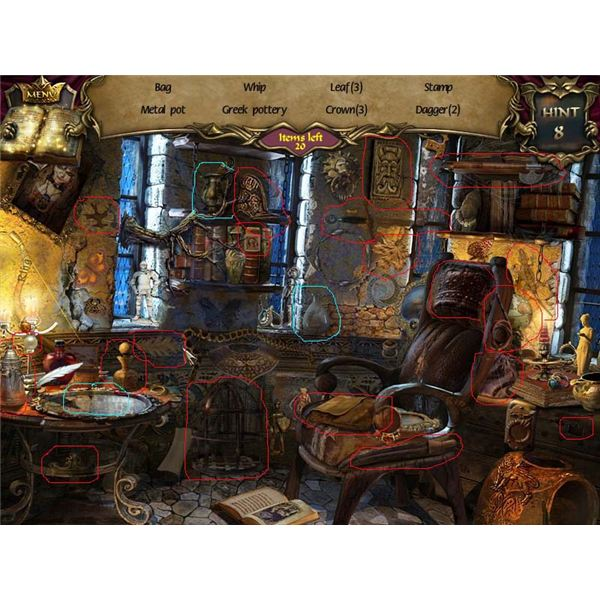 Prince's Study - Hidden Object Room