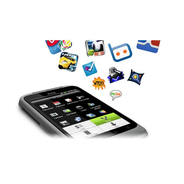 HTC Wildfire S Apps