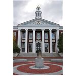 Harvard Business School Baker Library 2009 by chensiyuan/Wikimedia Commons (GNU/CC)