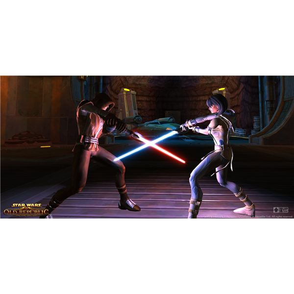 Preview of BioWare's Upcoming Star Wars MMORPG Star Wars: The Old Republic