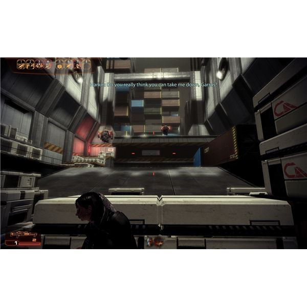 Mass Effect 2 Guide - Garrus' Loyalty Mission - Harkin and the Two Heavy Mechs