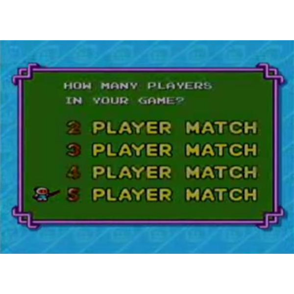 Bomberman '93 Supports Up to Five Players Simultaneously