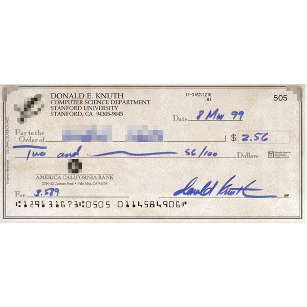 Where is the Routing Number Located on a Check?  A Review of the Types of Checks, Parts of a Check and Money Transfers.