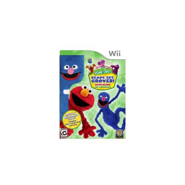Ready Set Grover Wii game from Sesame Street