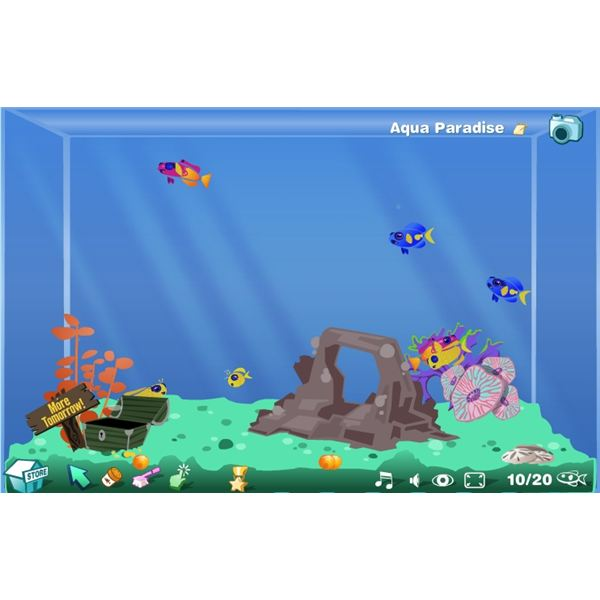 Happy Aquarium Screenshot - virtual fish tank