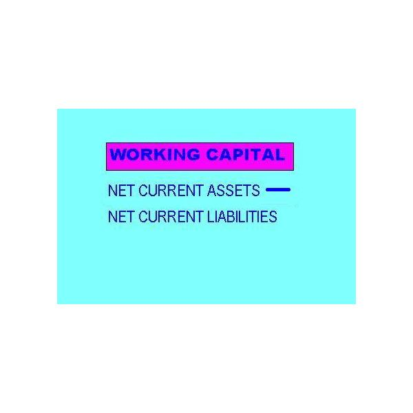 Calculate Working Capital