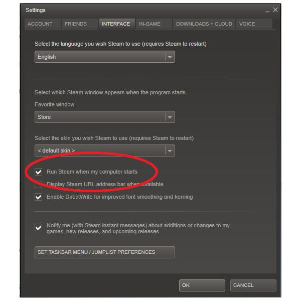 Disabling Steam with Offline Play