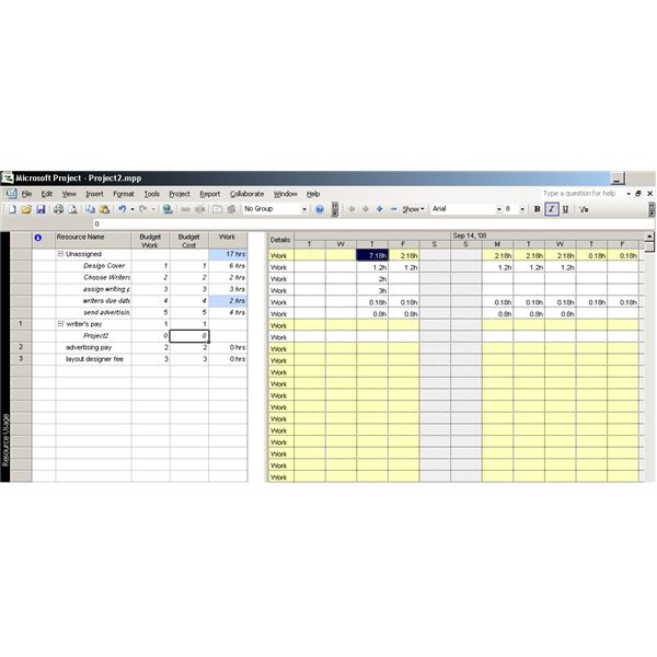How To Create A Budget In Microsoft Office Project Brighthub
