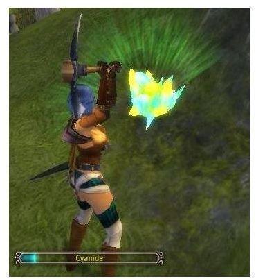 in game screenshot of Runes of Magic mining