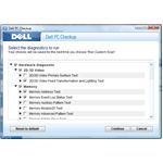 Customizing Dell PC Checkup scans