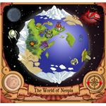 The Main Neopets map