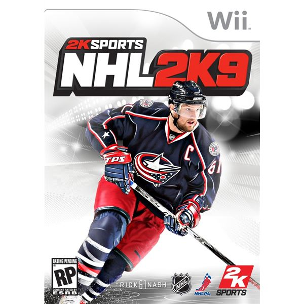NHL 2k9 cover art