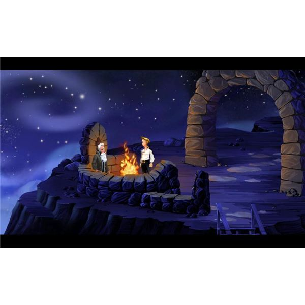 Revamped Visuals of The Secret of Monkey Island