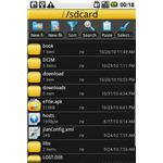 eFile Android app to manage internal phone storage