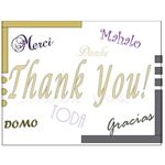 Thank You Postcards: Languages