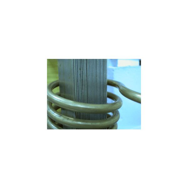 Solenoid with iron core