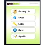 Screenshot Happy Family Shared Grocery List