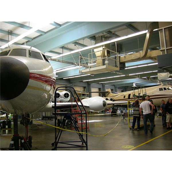 """Aircraft maintenance training facility, South Seattle Community College, Seattle, Washington"" by Joe Mabel/Wikimedia Commons via GNU Free Documentation License, Version 1.2"