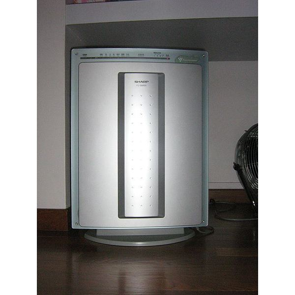 Air Purifier Image Source: https://commons.wikimedia.org