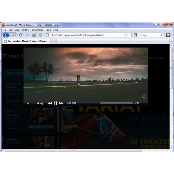 Download, Install and Use the QuickTime Plugin for Firefox