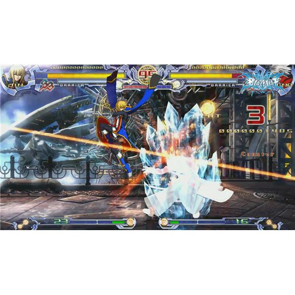BluBlaz: Calamity Trigger is a fighting game
