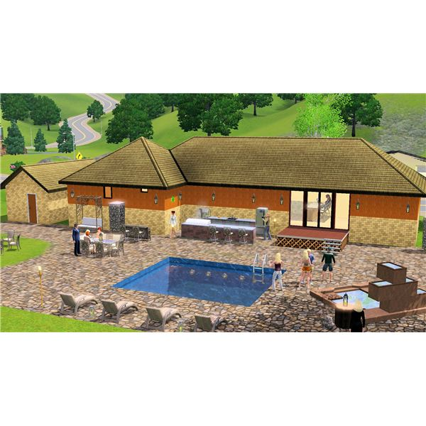The Sims 3 Outdoor Living Guide & Stuff Pack