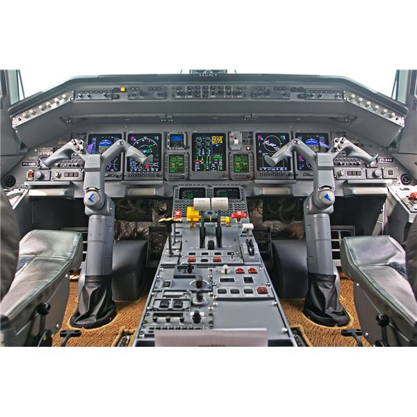 The modern aircraft panels avoid many accidents