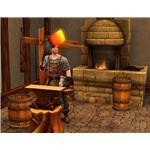 The Sims Medieval forging 4