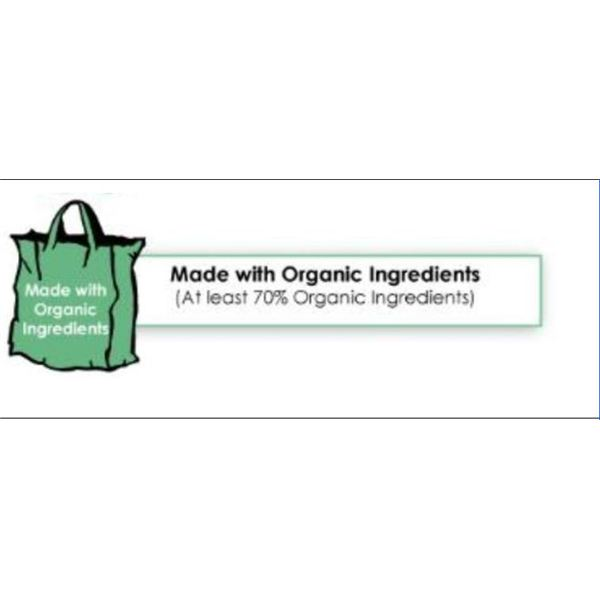 70% Organic Ingredient USDA Labels