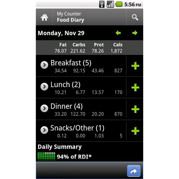 Calorie Counter by FatSecret Android App