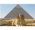 Sphinx & Pyramid