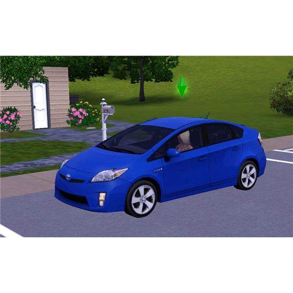 The Sims 3 Toyota Prius Car