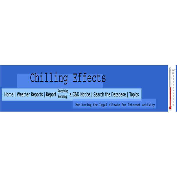 ChillingEffects.org Home Header