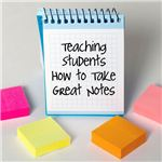 How would you grade your students' note-taking skills?