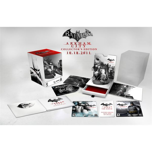 Arkham City Collectors Edition